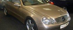 maglownica do Mercedes-Benz CLK 270