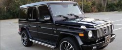 maglownica do Mercedes-Benz G 500