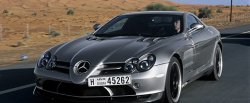 maglownica do Mercedes-Benz SLR