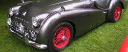 maglownica do Triumph TR3