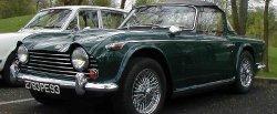 maglownica do Triumph TR5